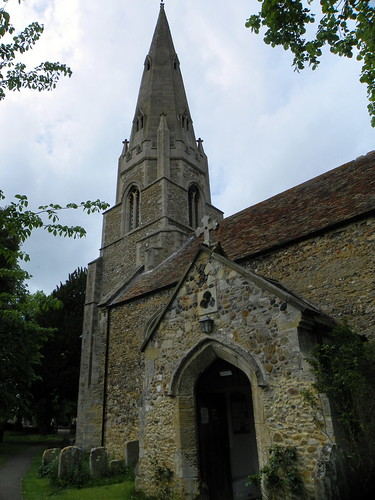 Godmanchester to St Ives 222: St Mary's Church, Houghton
