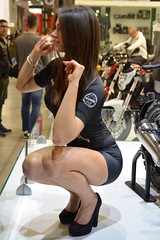 Eicma 2016 Model (391) (Pier Romano) Tags: eicma 2016 salone esposizione ciclo moto profilo gambe legs motorcycle bike fiera rho milano italia italy nikon d5100 ragazza girl donna woman modella model babe sexy hostess promoter standista bella bellezza beautiful stand eicma2016 beauty immagine splendida splendide