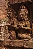sculpture at the terrace of leper king (JuanitaDesastre) Tags: art artisan khmerart khmer camboya cambodia leperking temple