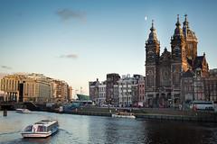 Basiliek van de H. Nicolaas // Amsterdam (Merlijn Hoek) Tags: water amsterdam 50mm canal central d800 kanalen merlijnhoek 50nikkor50