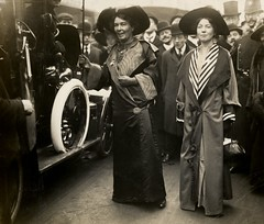 Emmeline Pethick Lawrence and Christabel Pankhurst, c.1908-c.1912.