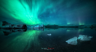 Northern Lights after the iceberg