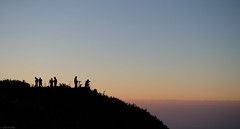 Photographers on the peak of Doi Chiang Dao