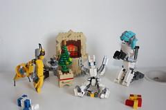 Merry Xmas 2015 !(14) (Loysnuva) Tags: christmas xmas tree fireplace lego system mecha mocs moc loys nuva icya bionifigs loysnuva mihibot bizibot