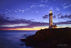 Pigeon Point Lighthouse (andispin1962) Tags: california sunset lighthouse storm beach coast twilight pacific illuminated sanmateo tallest starlight pigeonpointlighthouse darvin atkeson darv liquidmoonlightcom lynneal