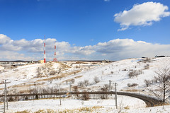 Broadcast tower, Kushiro (Otterhaus) Tags: japan landscape broadcasttower