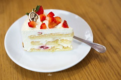 All I want for Christmas (iSam's) Tags: christmas red white cake strawberry sam cream fresh short sweets merry shortcake 2015 isam