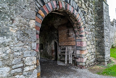 Open door (swordscookie back and trying to catch up!) Tags: howth tower gate open pirate mayo graceomalley deerpark arrowslit howthcastle grainnemhaol clanleader