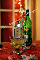 DSC08247P1 (Scott Glenn) Tags: dof drink sony beverage olive martini cocktail alcohol newyearseve cheers alpha gin f25 happynewyear vermouth 2016 2015 a65