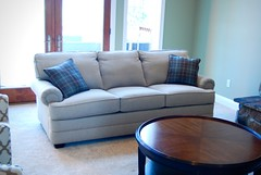 Evanston Sofa by Norwalk Furniture (Brian's Furniture) Tags: 3 back panel arm legs semi pillows sofa fabric turnstile evanston attached cushions tapered 441140 poharve 87long 294615 tcushions