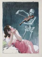 Jose, Maria (STORMZORN) Tags: maiden madchen mortsqueletteskeletonfemmedame fillejeunewomannakedmementomorinuenude erosthanatosdansemacabrecadavercadavreznortcraneskull muertechica todtott tanzdellamorte