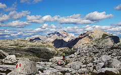 s16_0722_Fanes07 (Vid Pogacnik) Tags: dolomiti dolomites mountain plateau hiking panorama karst outdoor fanes