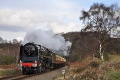 20090306     71000 (paulbrankin775) Tags: 71000 duke gloucester severn valley railway 2009 bewdley bridgnorth svr steam gala