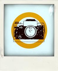 Snoopy and camera (Leo Reynolds) Tags: xleol30x poladroid polaroid faux fauxpolaroid fake fakepolaroid phoney phoneypolaroid camera groupeffectedcameras nottakenbyme