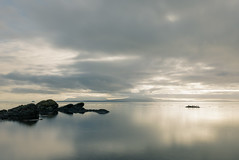 morning glow (salalstudio) Tags: beach britishcolumbia longexposure minimalism pacificnorthwest morning seascape