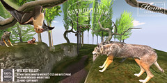 TLC@ The Cosmopolitan Oct9-Oct22 (- TRUE & LAUTLOS CREATIONS -) Tags: tlc animated animals wildlife wolf wolves bat secondlife sl cosmopolitan event biweekly