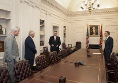 6-15-16 Governor Bill Haslam swears in Tony Parker as the new Commissioner of Corrections (tdoc.communications) Tags: governorbillhaslam commissionerofcorrectionstonyparker chiefoperatingofficergregadams deputytothegovernorjimhenry june nashville statecapitol 2016