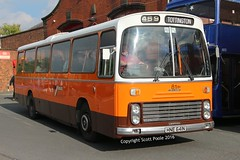 Manchester Muesum of transport 'The Big Orange at 30' Manchester Deregulation (6228 Leeds) Tags: gmpte gmbuses 81 hne641n leyland leopard ecw bolye street manchester saturday october 15th 2016