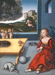 La Mlancolie (Muse Unterlinden, Colmar) (dalbera) Tags: museunterlinden colmar dalbera mlancolie cranach alsace france lucascranachlancien