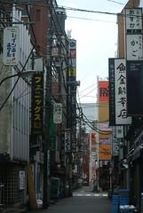 tokyo6022 (tanayan) Tags: urban town cityscape tokyo japan nikon j1 road street alley   shinbashi