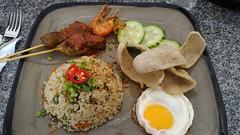 Malay style lunch in Kampong Glam at Agrobazaar Malaysia, Singapore (Loeffle) Tags: 102016 singapur singapura singapore kampongglam dinner dish gericht essen malaystyle malaysisch agrobazaarmalaysia