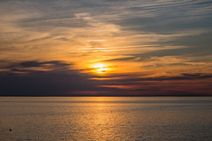 Sunset by the Sea (Infomastern) Tags: goodnightsunset malm vstrahamnen cloud hav sea sky solnedgng sunset
