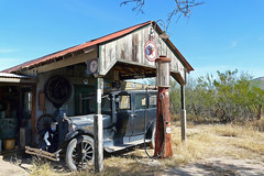 P1130206 Gas Station (lois manowitz) Tags: gallerygang arizona