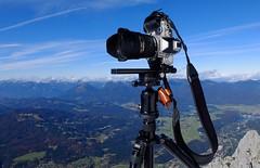 Mittenwald - The Making of... (cnmark) Tags: germany deutschland mittenwald bayern bavaria karwendel landscape blue sky outdoors mountans mountain range gebirgskette alpen alps camera nikondf allrightsreserved