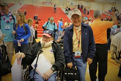 L-R:  Wyman, Frederich (Fred) / Wehrly, Frank 21 Red (indyhonorflight) Tags: ihf indyhonorflight oct charity taboas 21 public2021 wyman frederich fred wehrly frank red homecoming