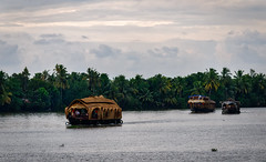 Kerala Waterways (Waldemar*) Tags: india south kerala backwaters canals waterways lagoons kottayam houseboat kettuvallams tourism