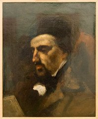IMG_8667 (jaglazier) Tags: 103116 18191877 1819ad1877ad 1851 1851ad 19thcentury 19thcenturyad 2016 adolphemarlet adults bearded beards copyright2016jamesaglazier courbet crafts dublin french gustavecourbet ireland men moustache museums nationalgalleryofireland october oil painting portraits art canvas oilpainting realism