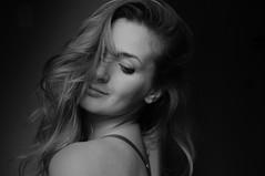 289/365 (Ell@neese) Tags: selfportrait women woman portrait face model black 365 pentax