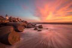 Epic sunset! (Sierra_Summits) Tags: santa cruz harbor nature sunset earth california colors long exposure water ocean time flowing new winter wash salt warm 2016