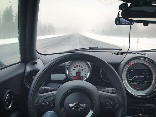 #ontheroad #winter #mini #likenorthkorea