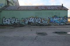 SNARL (NE, WD), HUMEN (QFK, AWE), UTER (CHARLES) (nobammerman) Tags: snarl humen uter wd qfk awe charles ne graffiti