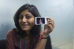 Picture in Picture (AvikBangalee) Tags: fujifilminstax instantphoto pip pictureinpicture portrait portraiture photoinphoto fujifilminstaxseries avikbangalee dhaka bangladesh people