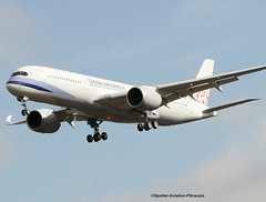 China Airlines. Second Airbus A350 For The Company. (Jacques PANAS) Tags: china airlines airbus a350941 b18902 fwzff msn057