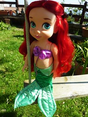 Disney Animators - Ariel (Sara.C~) Tags: disney animators belle snowhite biancaneve pocahontas ariel mermaid littler animator doll dolls collector