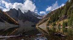 Serenity (pauls1502) Tags: lakeagnes lakelouise clouds canada canadianrockies mountains lakes serene nikon alberta banffnationalpark jasper