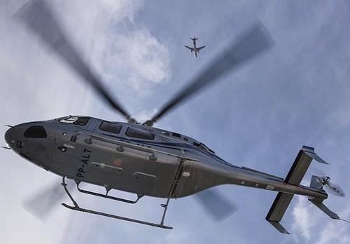 Bell 429 (via Instagram Fotografias Aéreas)