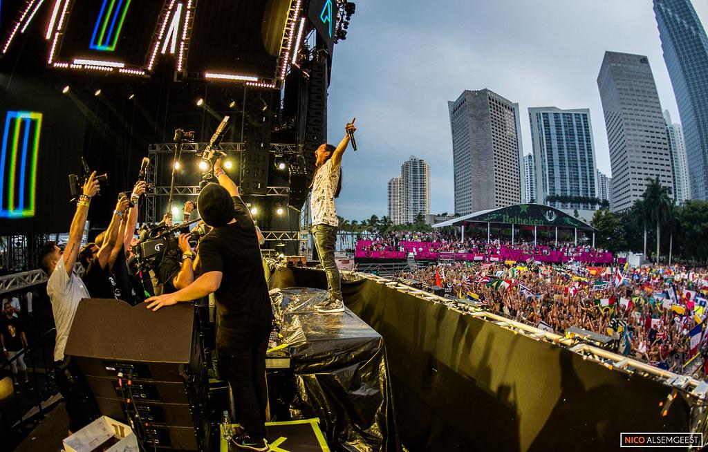 Steve Aoki @ Ultra Miami 2015