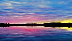 Pastel Skies (Bob's Digital Eye) Tags: bobsdigitaleye canon clouds efs24mmf28stm flicker flickr laquintaessenza lake lakescape landscape outdoor pastels silhouette skies sunset sunsetsoverwater t3i water sky cloud reflections ndf