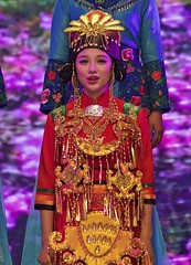 Southwest University of the Nationalities (Robert Borden) Tags: world asia china sichuan chengdu southwestuniversityofthenationalities singer concert music musician red performance woman portrait canon travel
