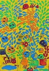 . (SA_Steve) Tags: bushwick brooklyn bushwickny brooklynny nyc art mural streetart creative graffiti color colors colour colours colorful door vivid