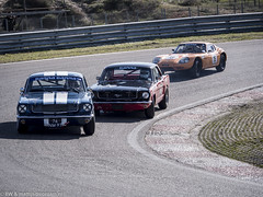 2016 Historic Zandvoort Trophy: Ford Mustang & Marcos 1800 GT (8w6thgear) Tags: 2016 historiczandvoorttrophy zandvoort ford mustang marcos 1800 gt touringcar sportscar audis nkhtgt