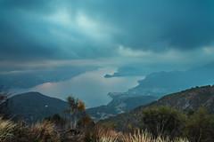 Lago di Como (CROMEO) Tags: lago di como de italia milan italy euro europe ue lake mountain view viewpoint cromeo color long exposure fog niebla colors blue water haida nikon 10 stops filter sunset day cr16 tour