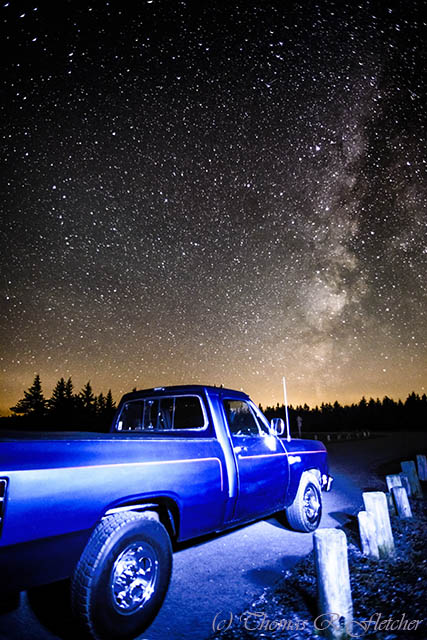 nightphotography summer sky usa green classic ecology car truck vintage woodland stars star spring woods nikon automobile solitude skies unique glory small automotive timeexposure galaxy westvirginia american transportation serenity vehicle astronomy motor 1989 nightsky mopar relaxation ram naturalbeauty universe exploration idyllic appalachia rugged freshness horsepower d800 appalachianmountains purity milkyway tranquilscene dodgeram starfield alleghenymountains wildernessarea starcluster bedcover monongahelanationalforest beautyinnature route150 pocahontascounty v8engine nationalscenicbyway starsandplanets cranberrywilderness highlandscenichighway 31x1050 congressionaldesignatedwilderness 318cubicinch throttlebodyfuelinjection 521liter twilightbluemetalicpaintcolor
