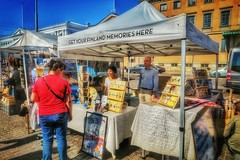 Get your Finland memories here (polnamara) Tags: travel summer canon suomi finland souvenirs helsinki finnland place market august lunchtime tourists friday hoiday 2015 g7x