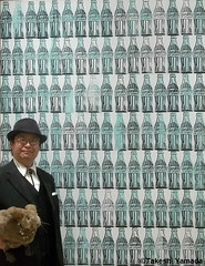 Dr. Takeshi Yamada and Seara (Coney Island Sea Rabbit) visited the Whitney Museum of American Art in Manhattan, NY on October 10, 2014.  20141010 422 380=C3. Andy Warhol (searabbits23) Tags: ny newyork sexy celebrity art hat fashion animal brooklyn painting asian coneyisland japanese star tv google king artist dragon god manhattan wildlife famous gothic goth performance pop taxidermy cnn tuxedo bikini tophat unitednations playboy entertainer takeshi samurai genius mermaid amc johnnydepp mardigras salvadordali unicorn billclinton billgates aol vangogh curiosities sideshow jeffkoons globalwarming takashimurakami pablopicasso steampunk yamada damienhirst cryptozoology freakshow barackobama whitneymuseumofamericanart seara immortalized takeshiyamada museumofworldwonders roguetaxidermy searabbit ladygaga climategate minnesotaassociationofroguetaxidermists