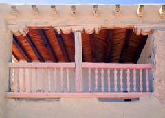 Elevated open-balcony chapel